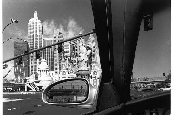 Lee Friedlander - I wasn't aware of how many reflections he had in his work