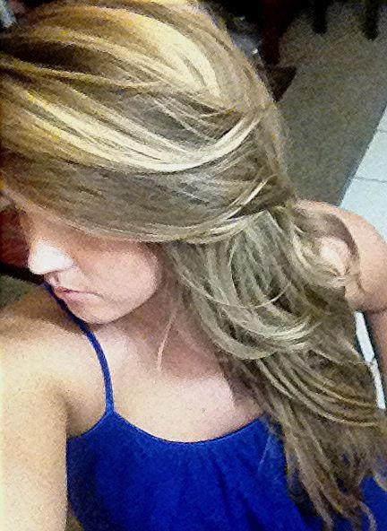 Cool Blonde Highlights :)