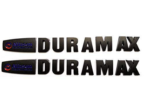 NEW 2015 Silverado 2500HD /& 3500HD Allison Duramax Hood Emblem 2Pcs