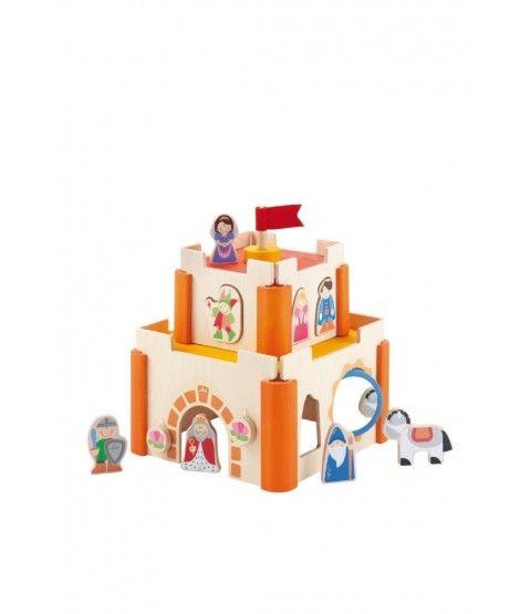 """Sevi Trudi 82598 """"Motorik-Schloß"""" Burg Kinder Baby Entwicklung Spielzeug Puppen  - 2-flowerpower"""