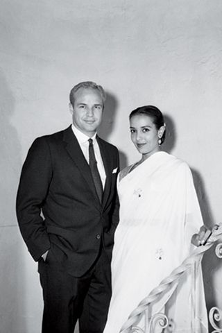 Marlon Brando marries actress Anna Kashfi on 11 October 1957 - Weddings and Movie Stars - GQ.COM (UK)