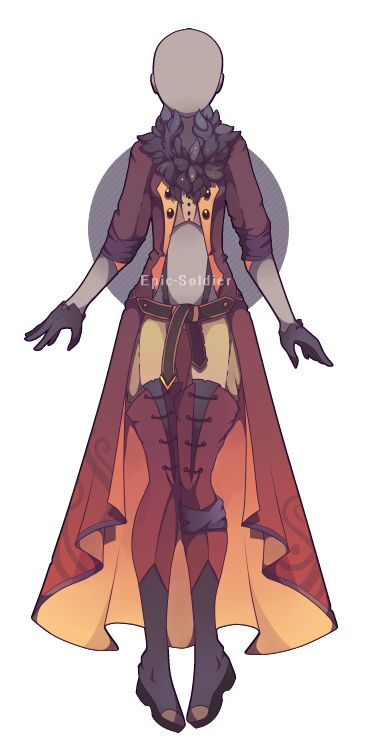 Outfit adoptable 36 (OPEN!) by Epic-Soldier.deviantart.com on @DeviantArt