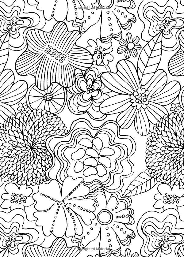The Mindfulness Coloring Book Anti Stress Art Therapy For Busy People Emma