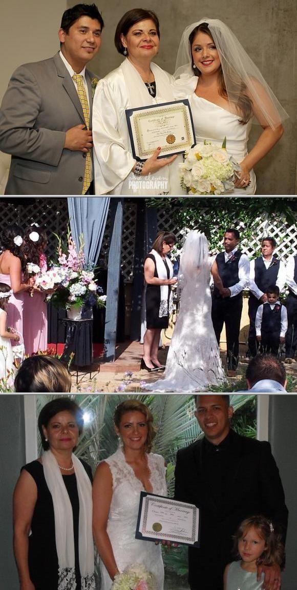 Pin on Wedding coordinators, Florists, Officiants near LA