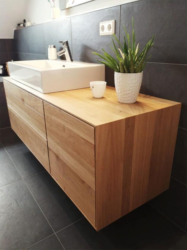 Waschtisch Eiche Astig Kleines Wc Zimmer Kleines Bad Dekorieren Badezimmer