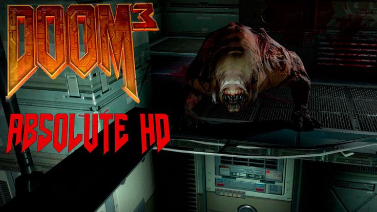 Doom 3 Absolute HD Mod 1.6 No Hud | Playtrough | No Commentary | UAC Adm...