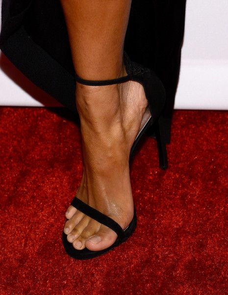 Ciara Photos Photos - Recording artist Ciara, pedicure and shoe details, attends the 2016 Pre-GRAMMY Gala and Salute to Industry Icons honoring Irving Azoff at The Beverly Hilton Hotel on February 14, 2016 in Beverly Hills, California. - 2016 Pre-GRAMMY Gala And Salute to Industry Icons Honoring Irving Azoff - Arrivals