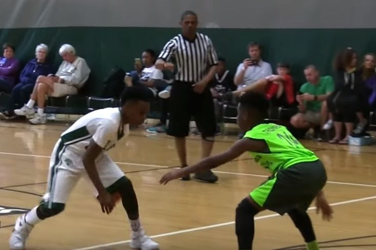 While their father is leading the Cleveland Cavaliers to the  NBA  playoffs, LeBron James Jr. (aka Bronny) and Bryce James are putting on shows of their own on the court...