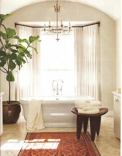 I want that tree.Bays Windows, Modern Mixed, Street Marketing, Classic Tudor, Bathroom Fixtures, Beautiful Bathroom, High Street, Cozy Bathroom, Master Bath