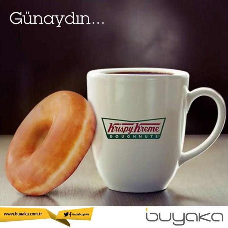 Günaydın! :) Yeni çekilmiş kahveni seçtiğin doughnut ile tamamla pazartesiye keyifle başla!  #BuyakaBiBaşka #Pazartesi #Kahve #Tatlı #Enerji #Mutluluk #BuyakaAvm