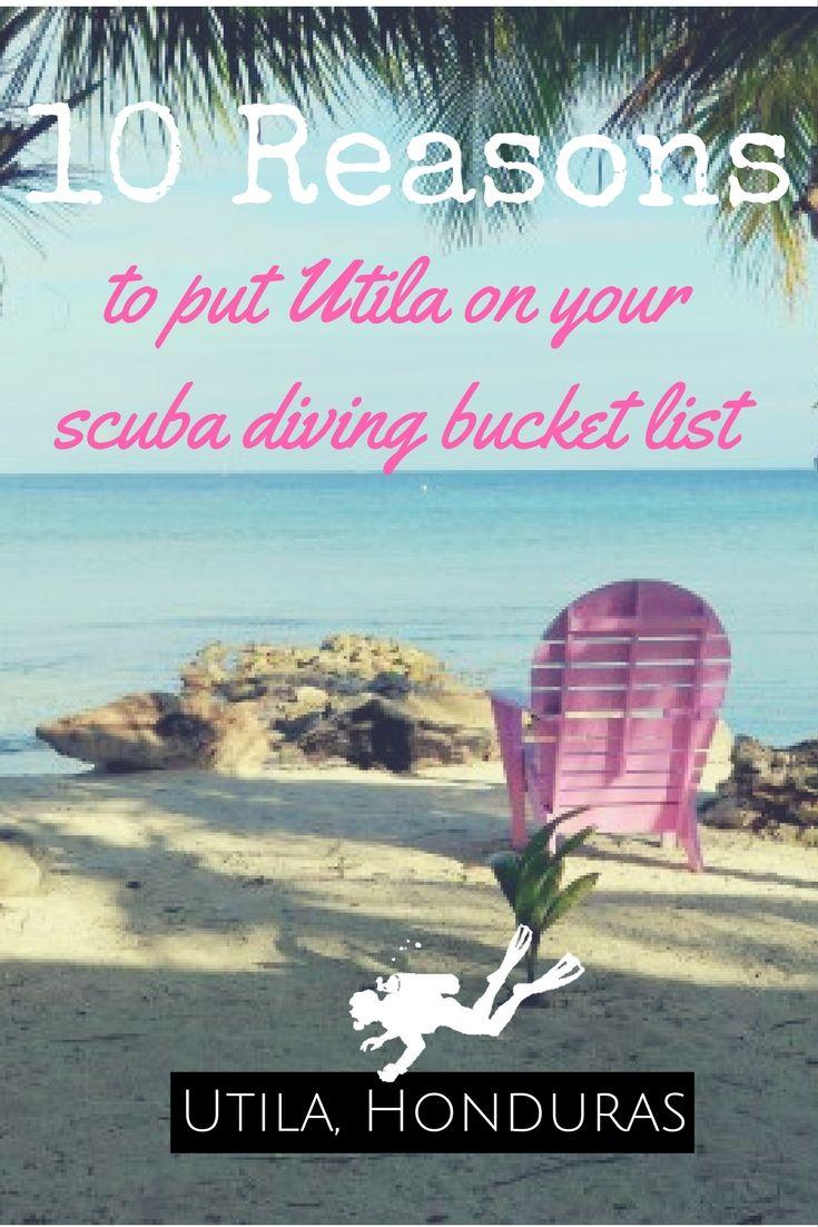 10 reasons to put Utila on your scuba diving bucket list - World Adventure Divers - Scuba diving, Utila, Honduras - read more on https://worldadventuredivers.com/2017/04/07/10-reasons-to-put-utila-on-your-scuba-diving-bucket-list/