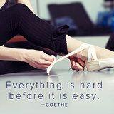 Goethe Motivational Quote