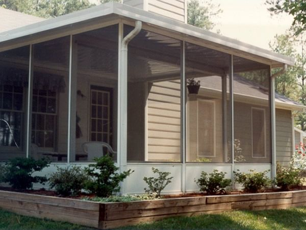 Lanai patio timberlake aluminum construction inc branford fl ideas and products pinterest - Screen porch roof set ...