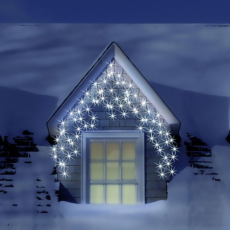christmas lights led christmas lights 4861 300 connectable icicl. Black Bedroom Furniture Sets. Home Design Ideas