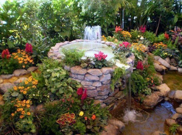 Arrange Your Garden With Water Features