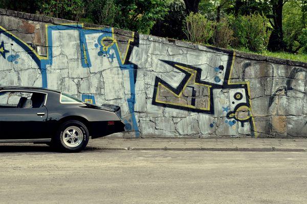 Pontiac Firebird - automotive photography by Karol Sidorowski, via Behance
