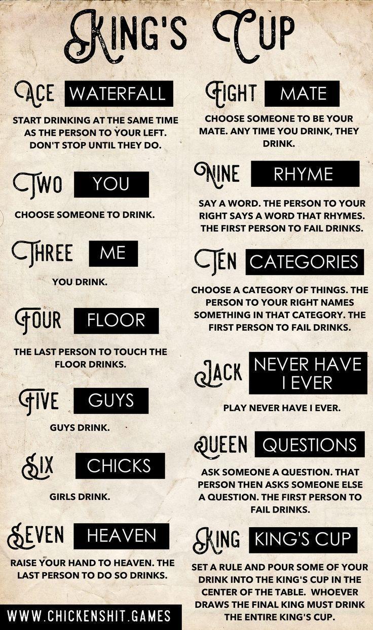 Kings Regeln