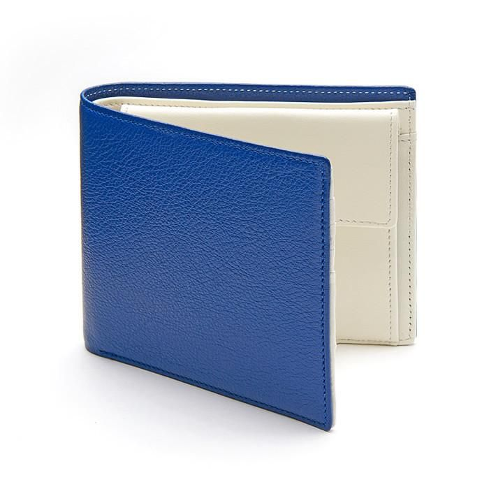 Men´s Wallet ANTORINI Elite in Blue and Ivory