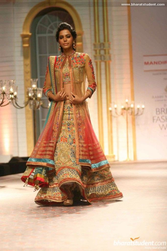 Mandira Wirk at Aamby Valley India Bridal Fashion Week 2013