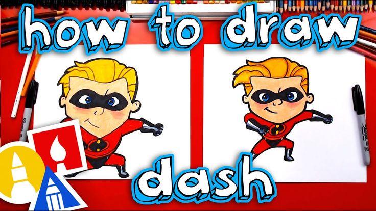 kids hub how to draw dash