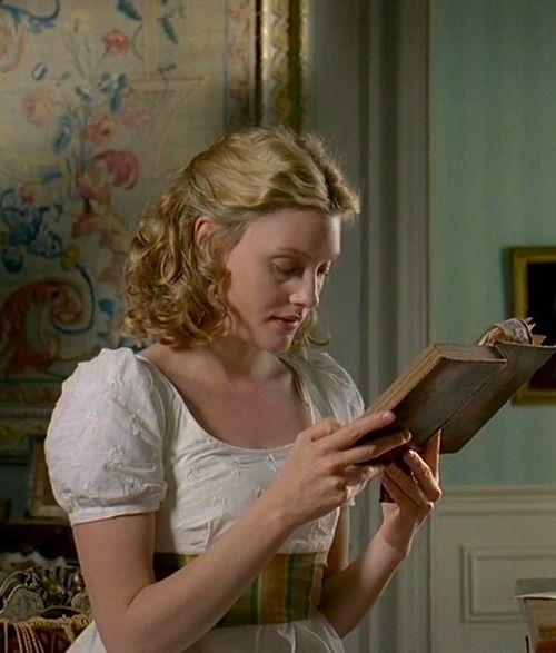 Romola Garai as Emma Woodhouse in Emma (TV Mini-Series, 2009).