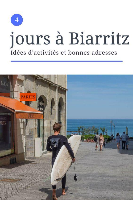 Visite de Biarritz lors d'un week-end prolongé de 4 jours - Idée d'activités et bonnes adresses pour visiter Biarritz - Pays Basque, France - #voyage #weekend #france #paysbasque #biarritz