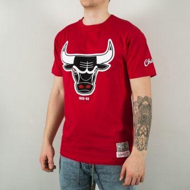 Mitchell & Ness NBA Chicago Bulls 1968-69 Logo Tee