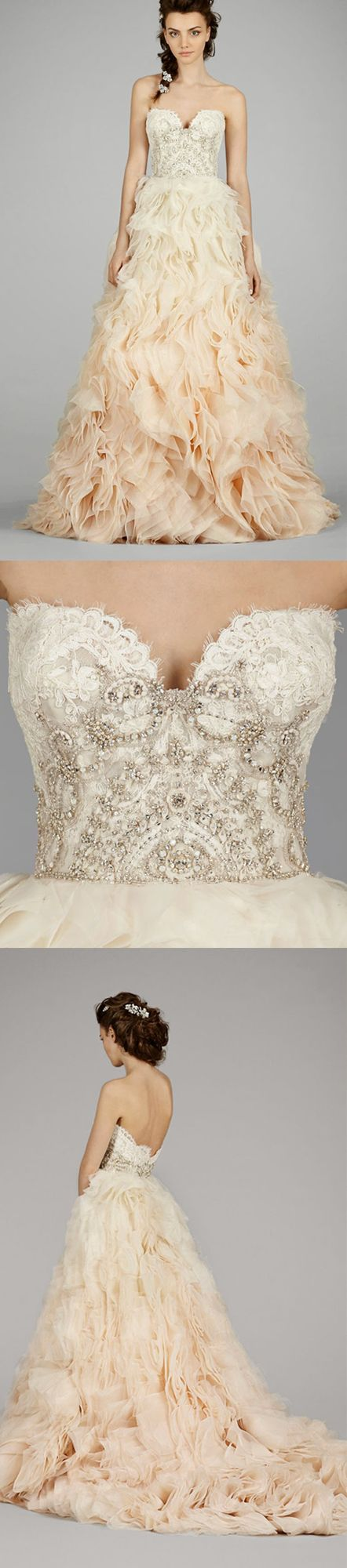 120 best Brautkleider images on Pinterest | Gown wedding, Wedding ...
