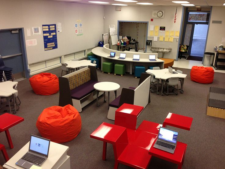 Learning Spaces: Weller Elementary Prototype - love this space so much
