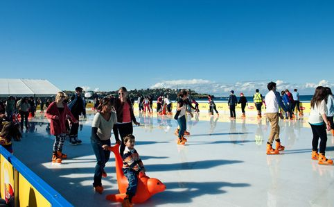 Bondi Winter Magic Ice Rink