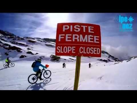 Alpe d'Huez - SARENNE SNOWBIKE 2015 - YouTube