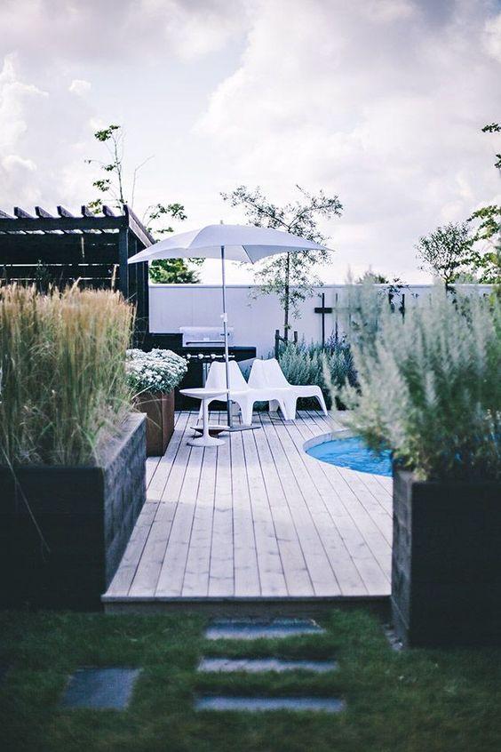 Imagem Relacionada Hinterhof Pool Landschaftsbau Garten Raum Im Freien