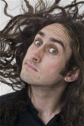 Ross Noble - Funny, tick. Bold, tick. Beautiful? Love the hair Ross!!
