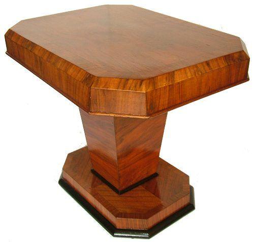 463 best ART DECO TABLES images on Pinterest | Art deco furniture ...