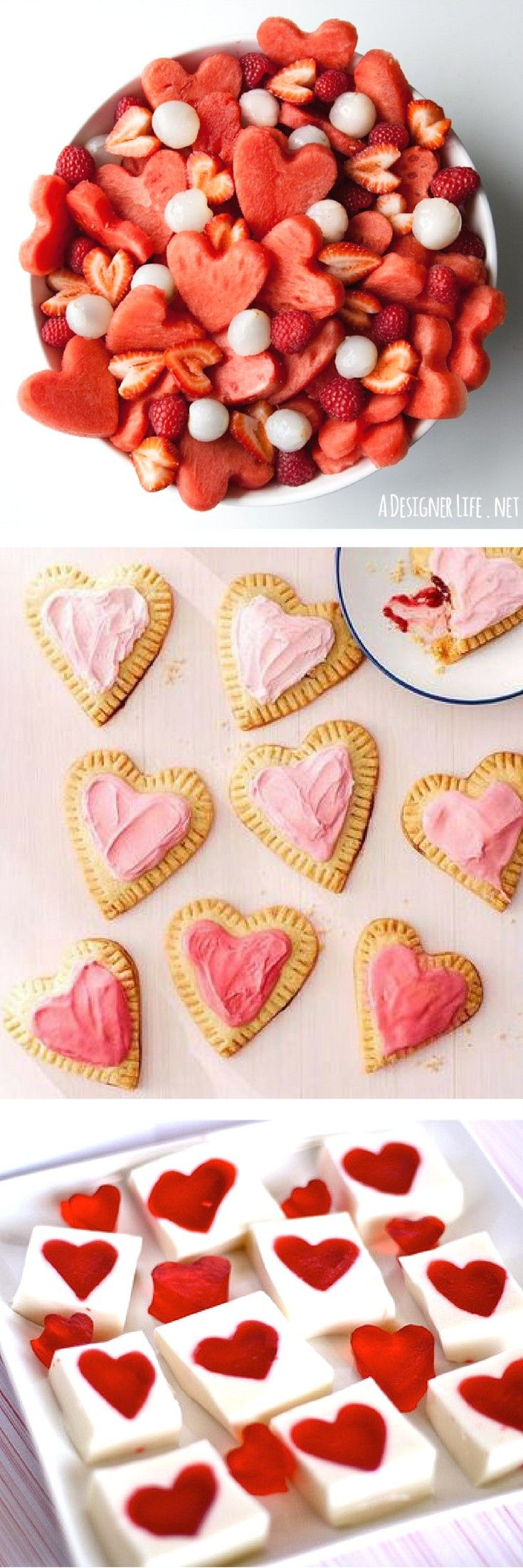 valentines day food ideas for a party - 735×2200