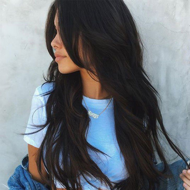 20 Stylish Long Layered Hair Ideas Trends In 2020 Long Hair Styles Hair Styles Hair Color For Black Hair