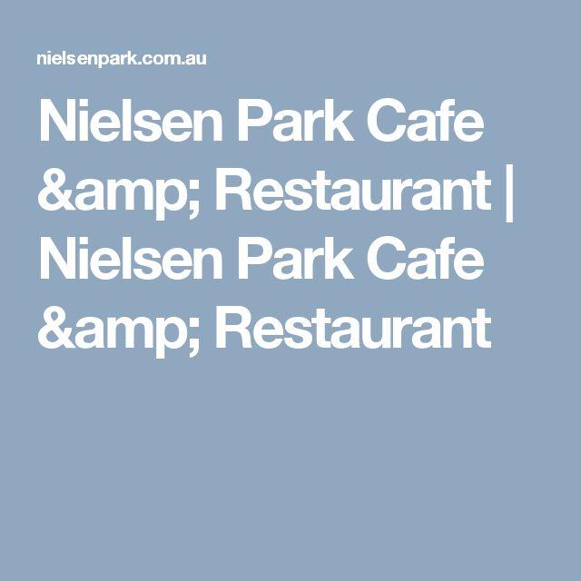 Nielsen Park Cafe Restaurant