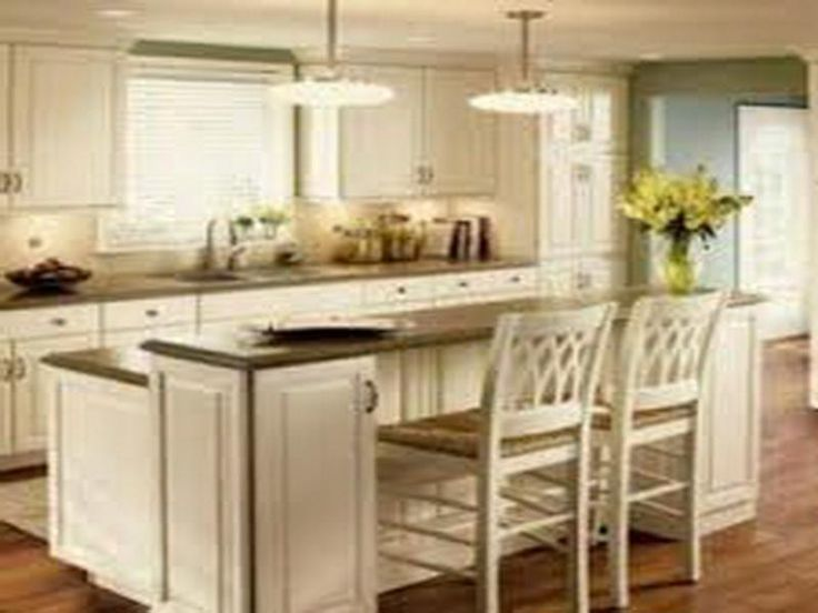 kitchen layouts with island related post from galley kitchen with island layout - Galley Kitchen With Island Layout