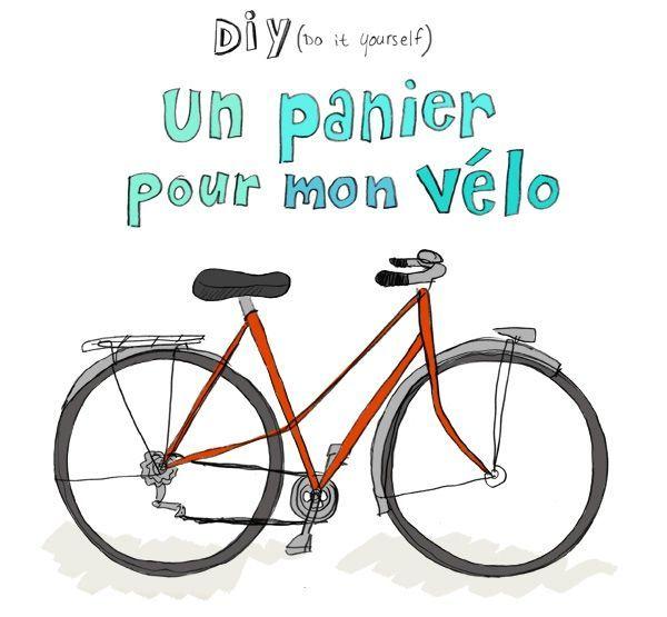 DIY : un panier pour mon vélo