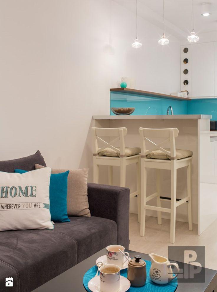 Salon styl Nowoczesny - zdjęcie od Pogotowie Projektowe Aleksandra Michalak - Salon - Styl Nowoczesny - Pogotowie Projektowe Aleksandra Michalak