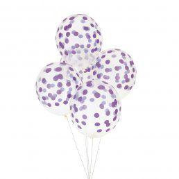Ballonger - Printed Confetti - Lila