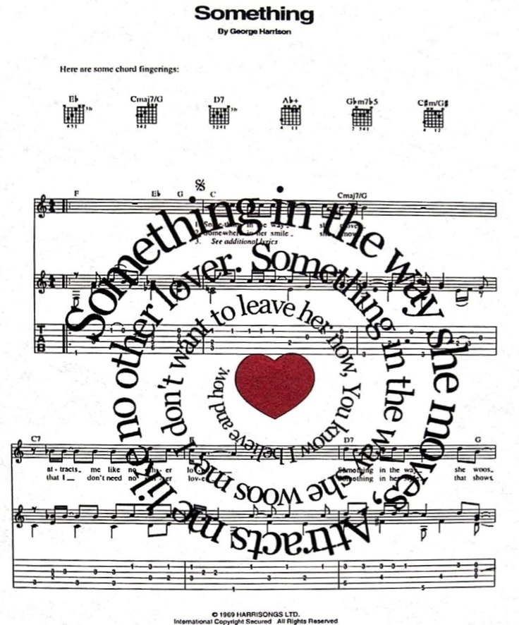 Something By The Beatles
