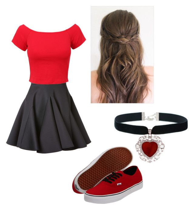 """Queen of Hearts Disney Outfit"" by tadevicha on Polyvore"