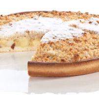 Appelkruimel vlaai met pruimen Vlaai recepten | Smulweb.nl