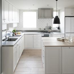 キッチン(台所)の注文住宅の施工事例|SUVACO