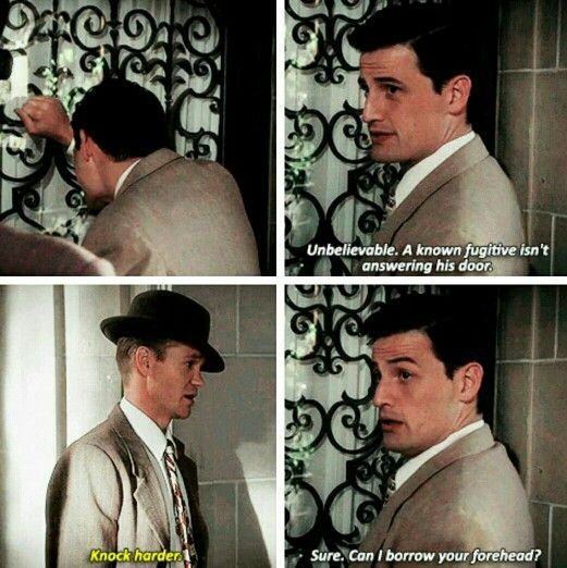 Daniel and Thompson. THE SASS. And this is why I love these two, even when Jack can be a jerk to Peggy and Daniel refuses to admit that he likes her.