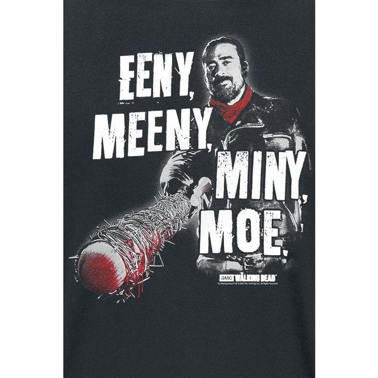 Negan  Eeny Meeny Miny Moe T-shirt Design