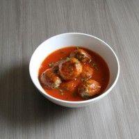 Balletjes in tomatensaus : Koolhydraatarme recepten
