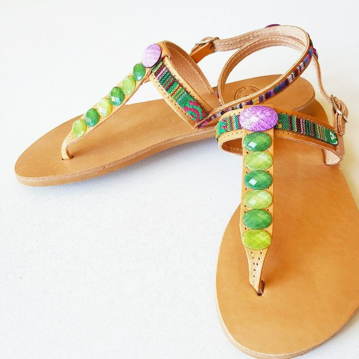 YOH Jasmine sun-dolls by De.L'art - Greek handmade sandals