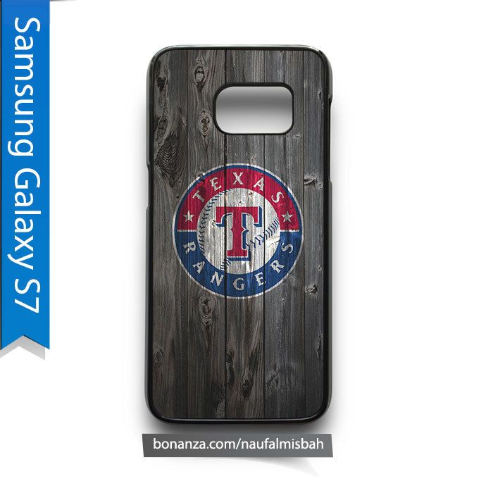 Texas Rangers on Wood Samsung Galaxy S7 Case Cover - Cases, Covers & Skins